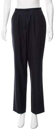 Luciano Barbera High-Rise Wool Pants blue High-Rise Wool Pants