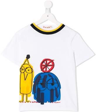 Marni (マルニ) - Marni Kids プリント Tシャツ