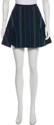Sacai Luck Tweed Mini Skirt