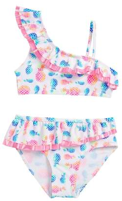Flapdoodles Pineapple Two-Piece Swimsuit