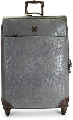 "Bric's 30"" My Safari Leather Packing Case"