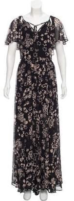 Rebecca Minkoff Floral Print Maxi Dress