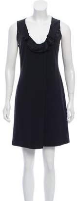 Philosophy di Alberta Ferretti Sequin- Accented MIni Dress