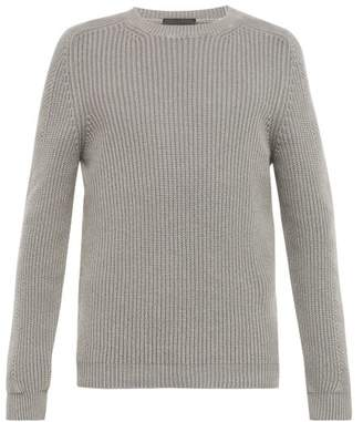 Iris von Arnim Jackson Cashmere Crew Neck Sweater - Mens - Grey