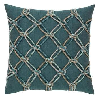 Lagoon Rope Indoor/Outdoor Accent Pillow