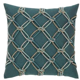 Elaine Smith Lagoon Rope Indoor/Outdoor Accent Pillow