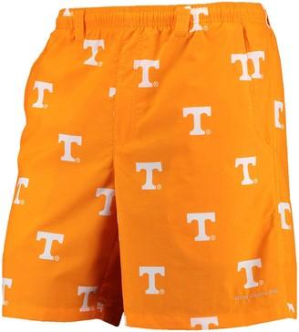 "Columbia Unbranded Men's PFG Tenn Orange Tennessee Volunteers Backcast II 8"" Omni-Shade Hybrid Shorts"