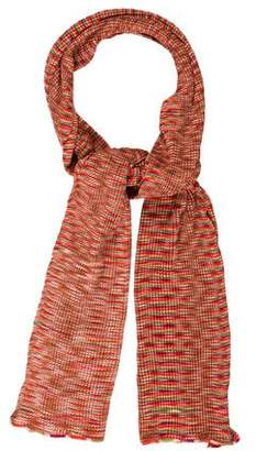 Missoni Knit Pleated Scarf