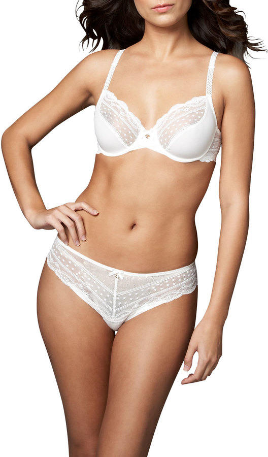 Chantelle C Paris Balconette Memory Foam T-Shirt Bra