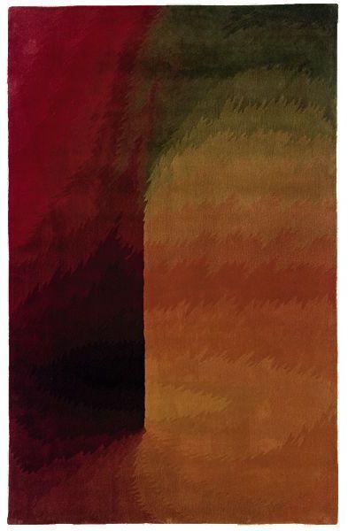 """Andy Warhol shadows"""" rug"""