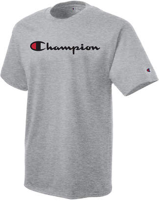 Champion Men's Logo Graphic T-Shirt $20 thestylecure.com
