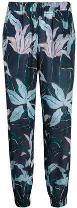 Tory Burch floral print trousers