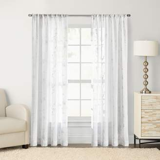 Sonoma Goods For Life SONOMA Goods for Life 1-Panel Chadwick Embroidered Sheer Window Curtain