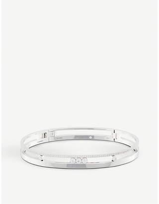 Rosegold Messika Move Romane 18ct rose-gold and diamond bracelet