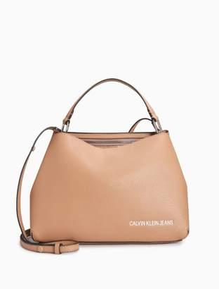 Calvin Klein ultra light 2-way satchel
