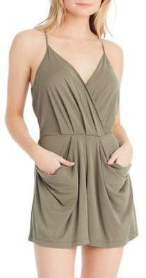 Jessica Simpson Rosedale Sandwashed Jersey Romper