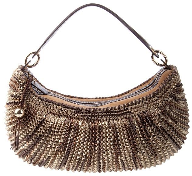 DIANE VON FURSTENBERG - 'Stephanie' leather hobo bag