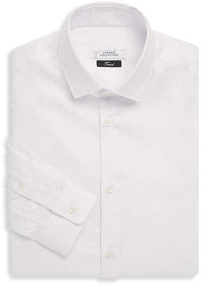 Versace Textured Stripe Dress Shirt