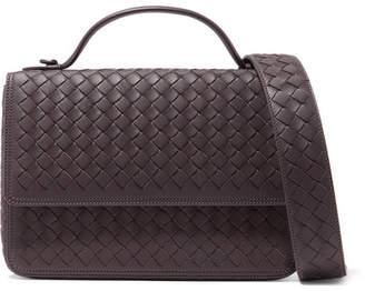 Bottega Veneta Alumna Intrecciato Leather Shoulder Bag - Brown