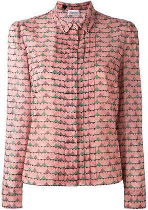 Red Valentino heart print shirt $895 thestylecure.com