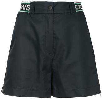 Andrea Crews elasticated waist shorts