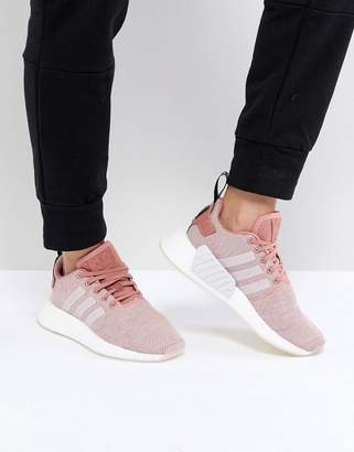adidas Nmd R2 Trainers In Pink Hld