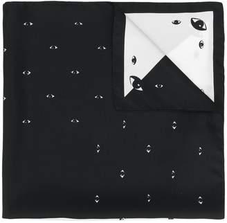 Kenzo Eye neck scarf
