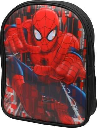 Spiderman Marvel Boys Spray Rucksack Black