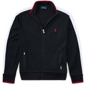 Ralph Lauren Childrenswear Boy's Cotton Interlock Track Jacket