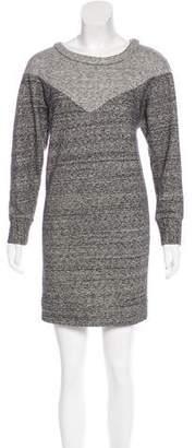 Etoile Isabel Marant Two-Tone Terry Cloth Dress