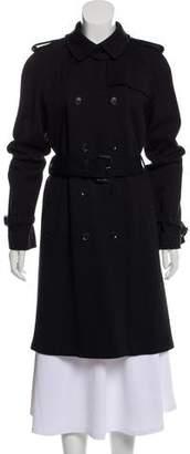 Gucci Wool-Blend Knee-Length Coat