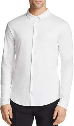Emporio Armani Jersey Classic Fit Dress Shirt - 100% Exclusive