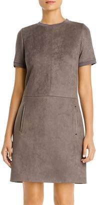 Elie Tahari Bridgett Faux-Suede Dress - 100% Exclusive
