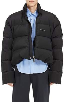 Balenciaga Men's C Curve Trapeze Puffer Jacket $1,995 thestylecure.com