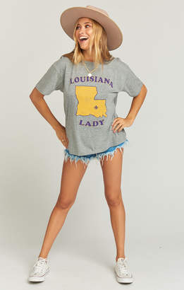 Show Me Your Mumu Travis Tee ~ Louisiana Lady Graphic