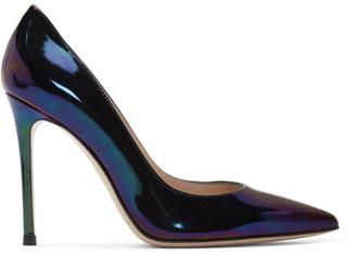 Gianvito Rossi Multicolor Oil Gianvito 105 Heels