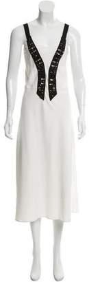 Tome Camisole Embellished Dress