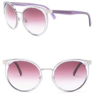 Versace 54mm Round Sunglasses