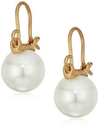 The Sak Cap Pearl Drop Earrings