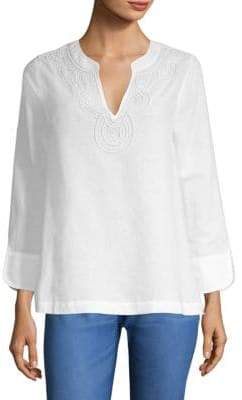 Vineyard Vines Embellished Tunic Top