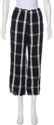 Reformation High-Rise Linen Pants