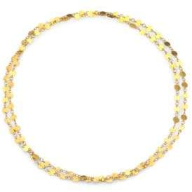 Gurhan Lush 24K Yellow Gold Long Flake Necklace