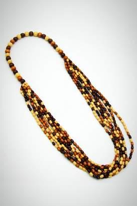 Embellish Wooden Bead Necklace