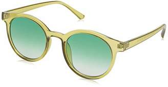 Morgan A.J. Sunglasses Low Key Round Sunglasses