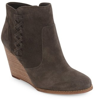 Women's Jessica Simpson Charee Wedge Bootie $99.95 thestylecure.com