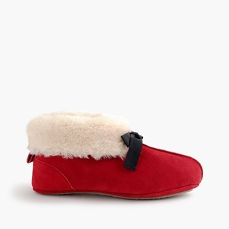 Women's lodge moccasin booties $59.50 thestylecure.com