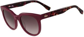 Lacoste Women's Vintage Inspired Square Sunglasses