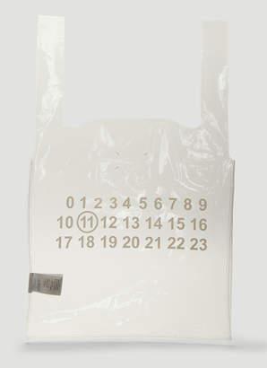 Maison Margiela Monoprix Tote Bag in White