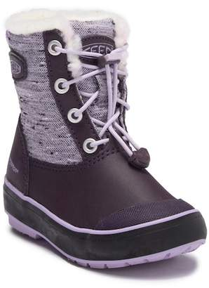 Keen Elsa Waterproof Faux Fur Lined Snow Boot (Toddler & Little Kid)