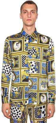 Versace Heritage Printed Shirt
